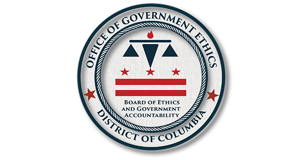 BEGA's Office of Government Ethics Dispositions Seal